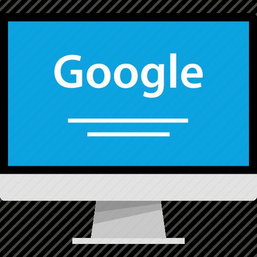 find, google, internet, online, search, web icon