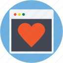heart, heart card, love, valentine card, valentine greeting icon