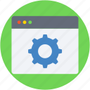 cogs, cogwheel, web cogs, web preferences, web settings icon
