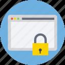 internet password, internet security, web locked, web security, website