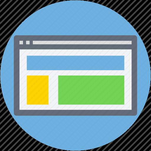 web design, web page, web structure, web template, website icon