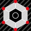 connect, internet, server, web icon