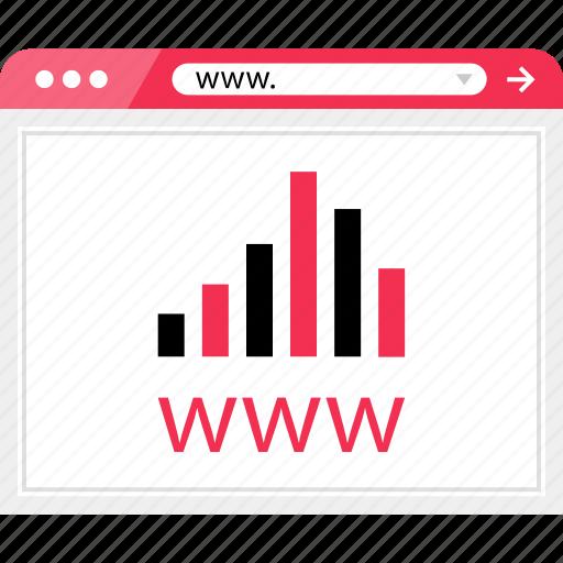 bars, data, graph, report, web, website, www icon