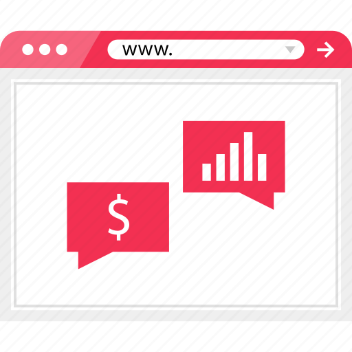 browser, chat, conversation, online, talk, web icon