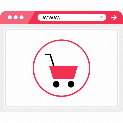 browser, cart, online, shop, shopping, web icon