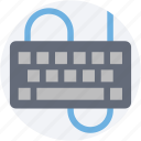 computer hardware, computer keyboard, input device, keyboard, typing icon