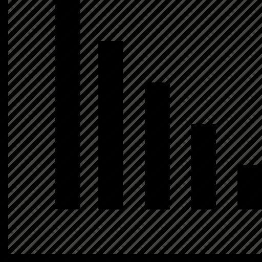 bars, graph, internet, online, web icon