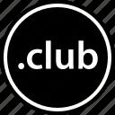 club, extension, internet, name, online, web icon