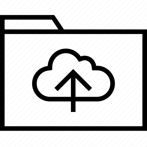 cloud, data, file, up icon