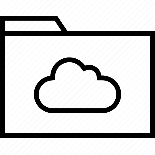 cloud, data, file, save icon