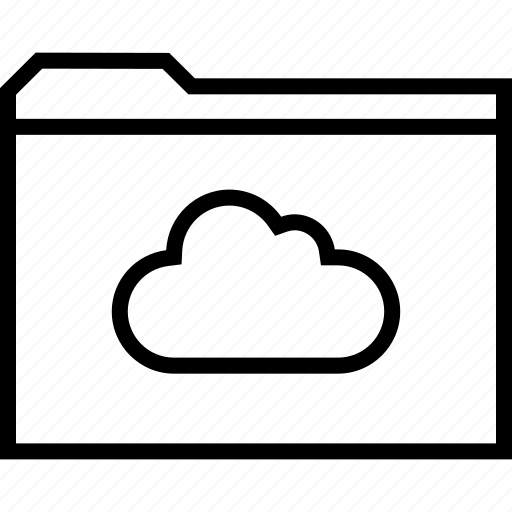 archive, cloud, weather icon