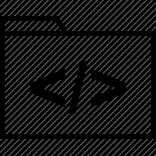 Development, file, folder icon - Download on Iconfinder