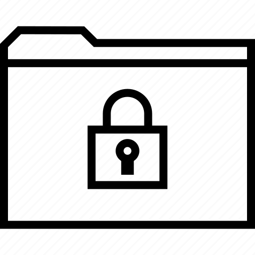 archive, lock, locked icon