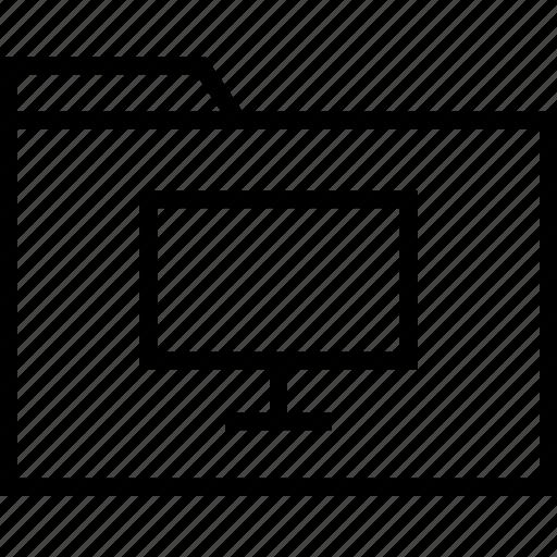 archive, file, folder, pc icon