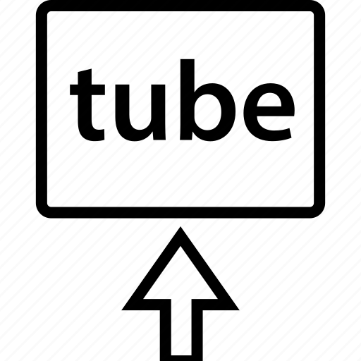 arrow, browsing, tube icon