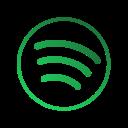 music, shubhambhatia, spotify, thevectorframe icon