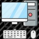 computer, desktop, pc, technology