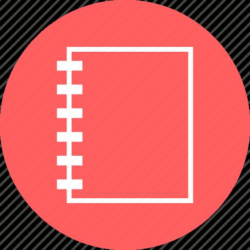book, note, write icon