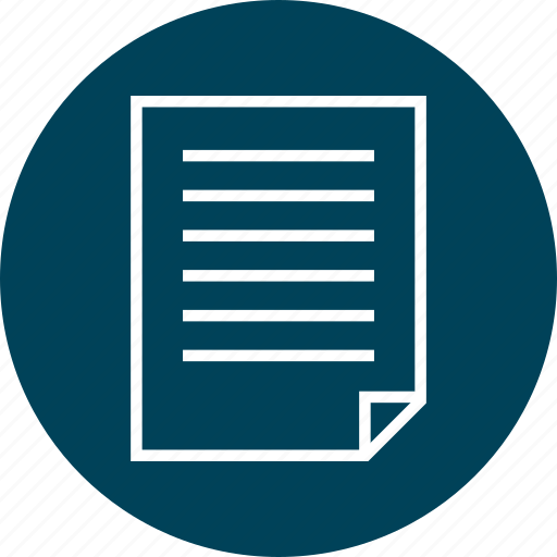 document, layout, page icon