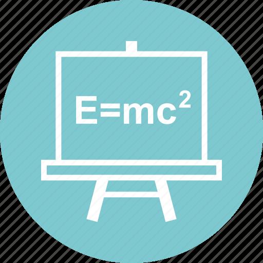 board, education, formula icon
