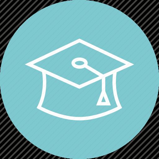 cap, graduation, learn icon