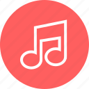 learn, learning, music, note icon