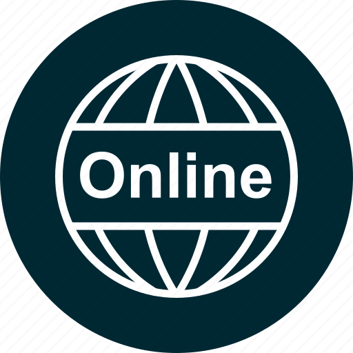 learn, online, world icon