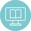 book, ebook, learn, open icon