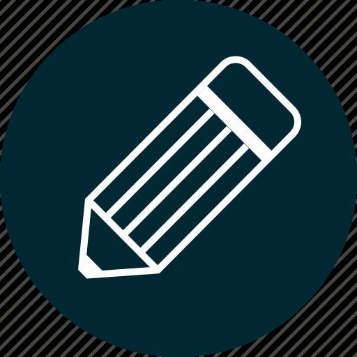 learn, pencil, write icon