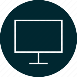 computer, monitor, online, screen icon