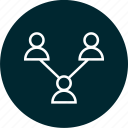 activity, connect, connected, group, users icon