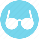 eyeglasses, eyewear, glasses, spectacles, view icon