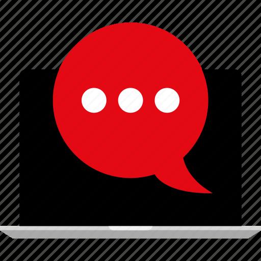 chat, online, talk icon