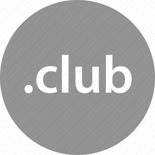 club, domain, extension, internet, online, web icon