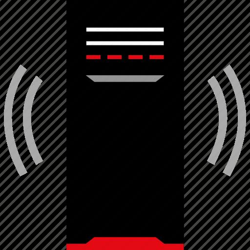 internet, mac, pc, signal icon