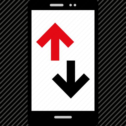 mobile, transaction, web icon