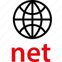 net, web, wide, world icon