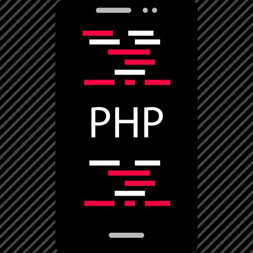 app, development, php, web icon