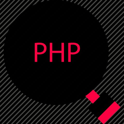 development, find, php, web icon