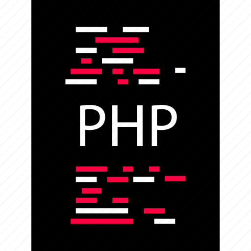 php, script, software icon