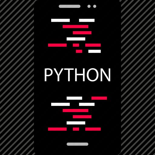 cell, code, python icon