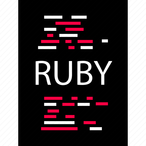development, ruby, script icon