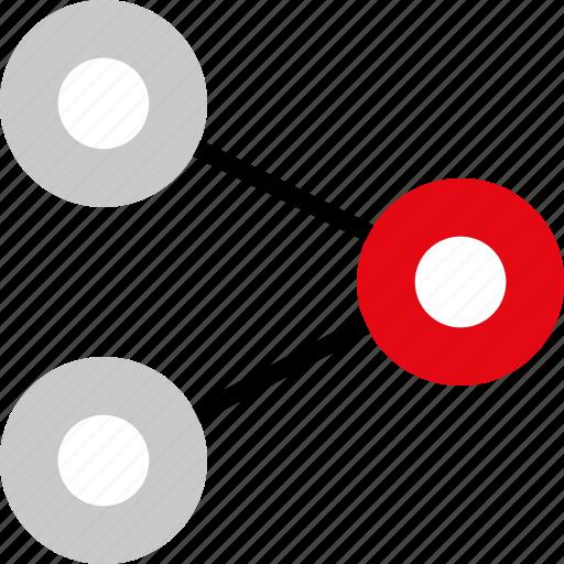 analytics, seo, share, web icon