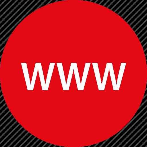 internet, wide, world, www icon