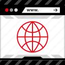 web, wide, world, www icon