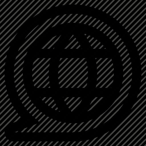 browser, communication, information, internet, online, website, www icon