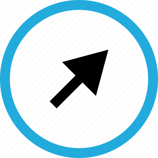 arrow, point, pointer, www icon
