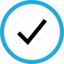check, mark, ok icon