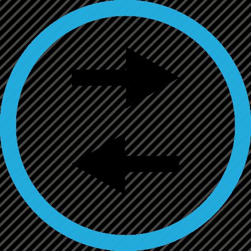 arrows, left, menu icon