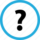 ask, mark, question icon